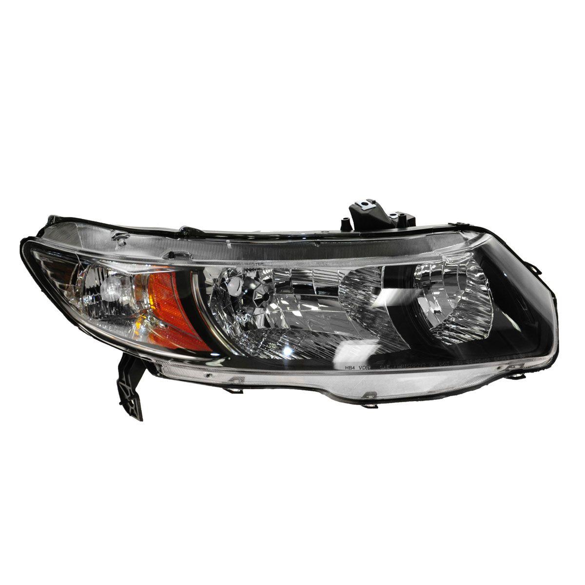 New Pair Set Halogen Headlight Headlamp Housing DOT 07-09 Mercedes-Benz E Class
