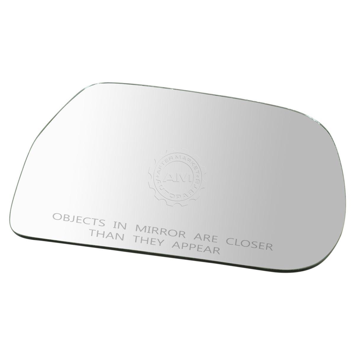Exterior Mirror Glass w//o Backing Plate RH Passenger Side for Toyota Highlander