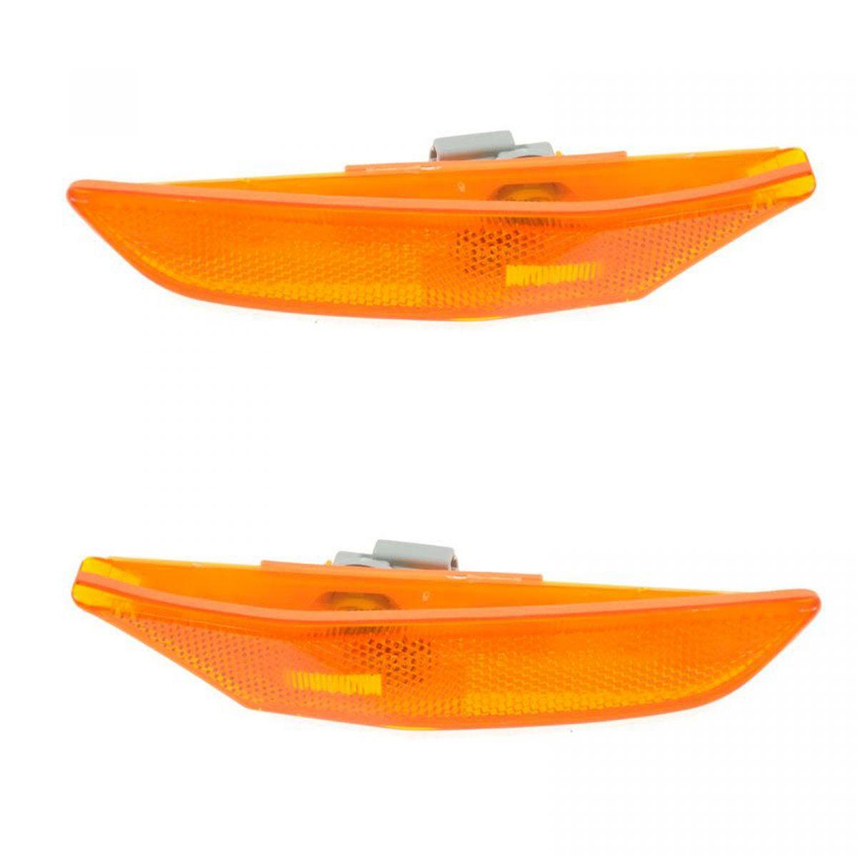 Front Fender Side Marker Parking Light Lamp Passenger Side for 2003-06 G35 Sedan