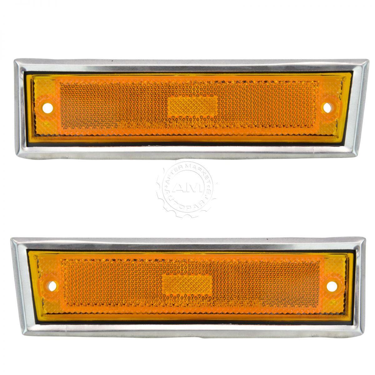 Side Marker Parking Light Passenger Side Right RH for Blazer GMC Jimmy C//K R//V