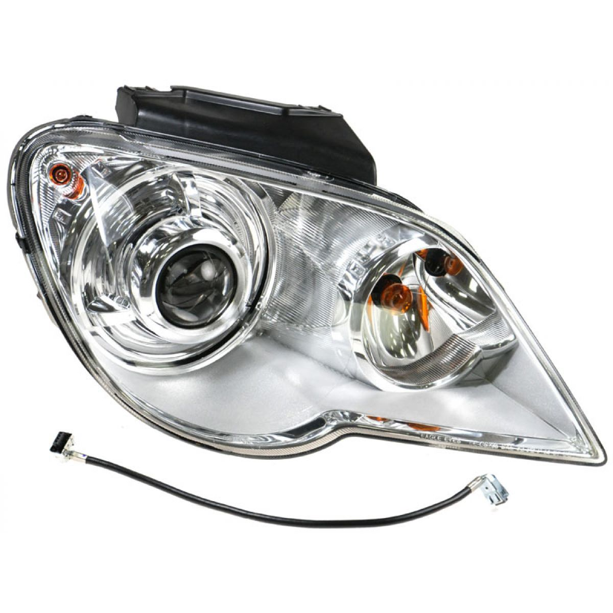 hid xenon headlight headlamp passenger side right rh for. Black Bedroom Furniture Sets. Home Design Ideas