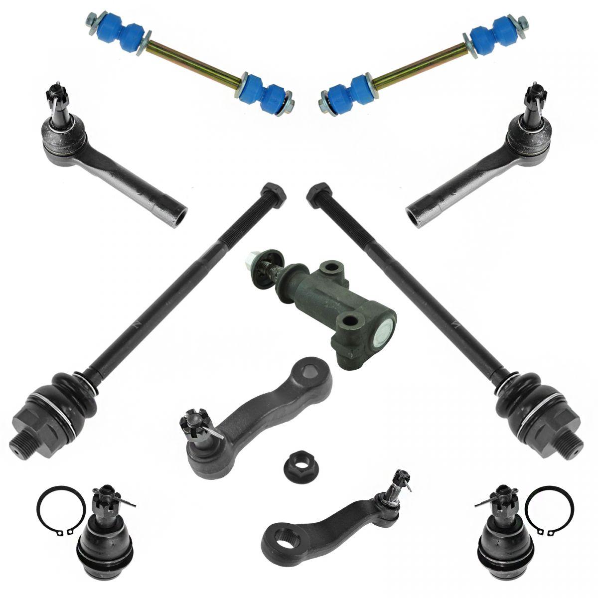 Tie Rod End Pitman /& Idler Arm Steering Kit Moog For Escalade Blazer Tahoe Yukon