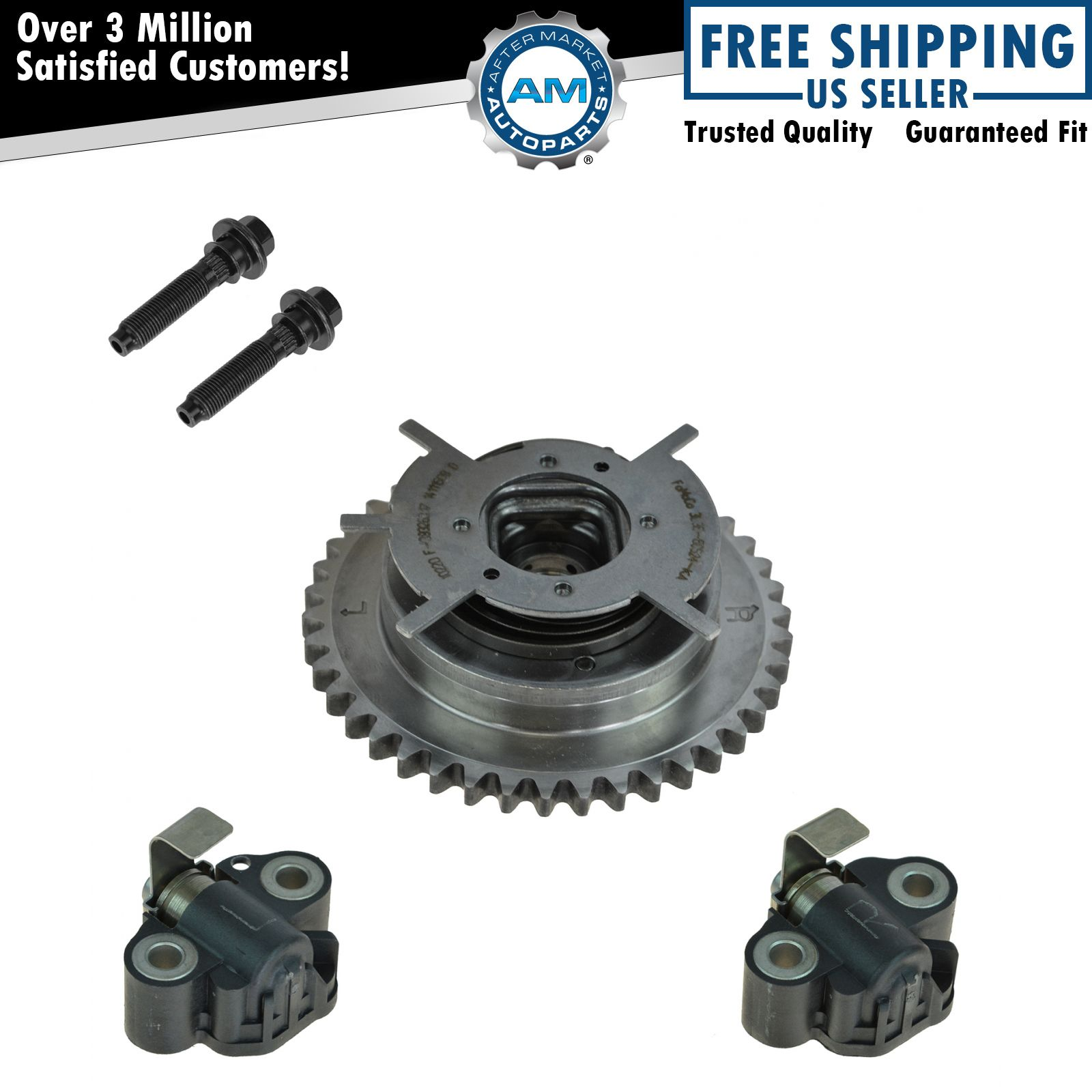 OEM Timing Chain Tensioner & Cam Phaser Set For Ford