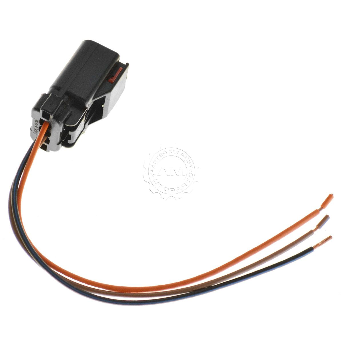 wiring connector pigtail harness 3 terminal pin for chrysler dodge rh ebay com Ford Wiring Pigtail Residential Wiring Basics