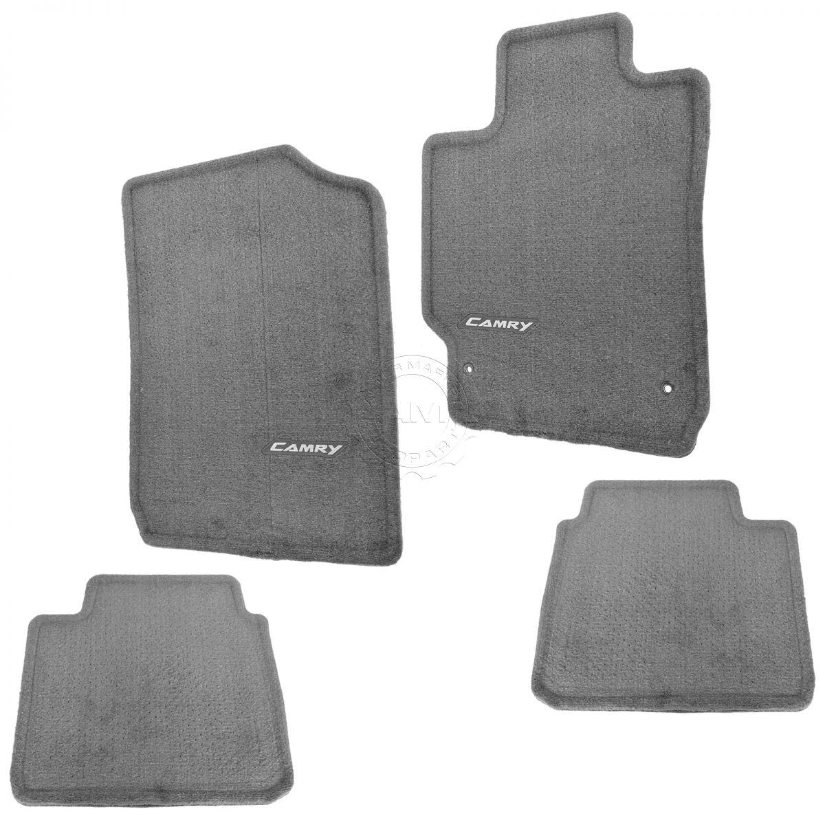 OEM PT206-32100-12 Floor Mat Set Gray Carpeted For 07-11 Toyota