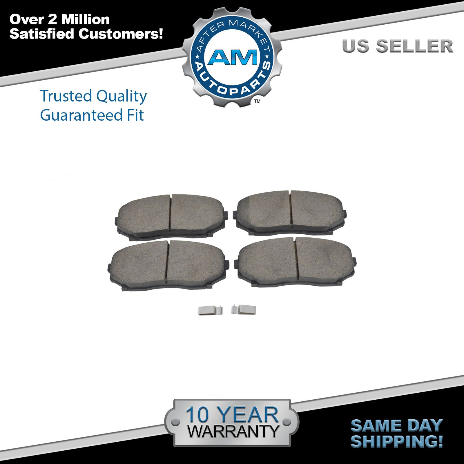 Front Disc Brake Rotors /& Ceramic Pads for 2007 2008 Ford Edge Lincoln MKX FWD