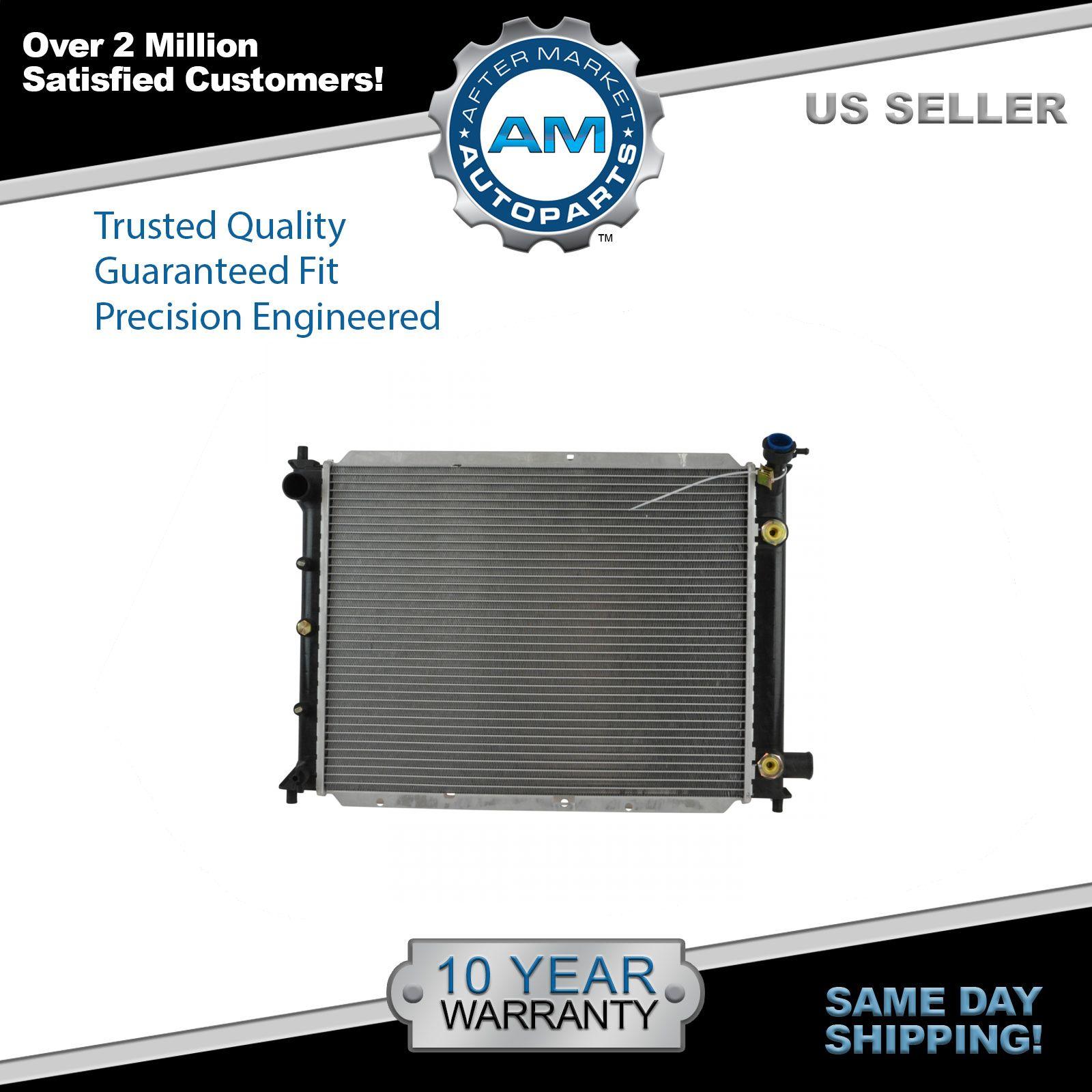 Radiator For 91-02 Ford Escort Mercury Tracer 1.8L 1.9L 2.0L L4 Direct Fit