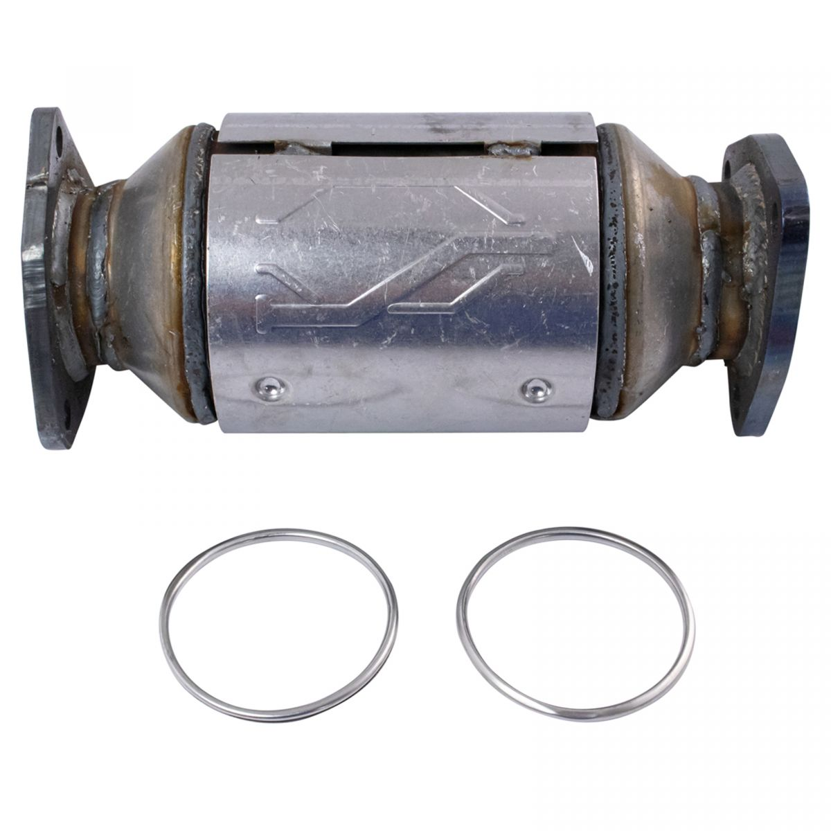 Rear Engine Exhaust Catalytic Converter Assembly For Honda Acura New Ebay