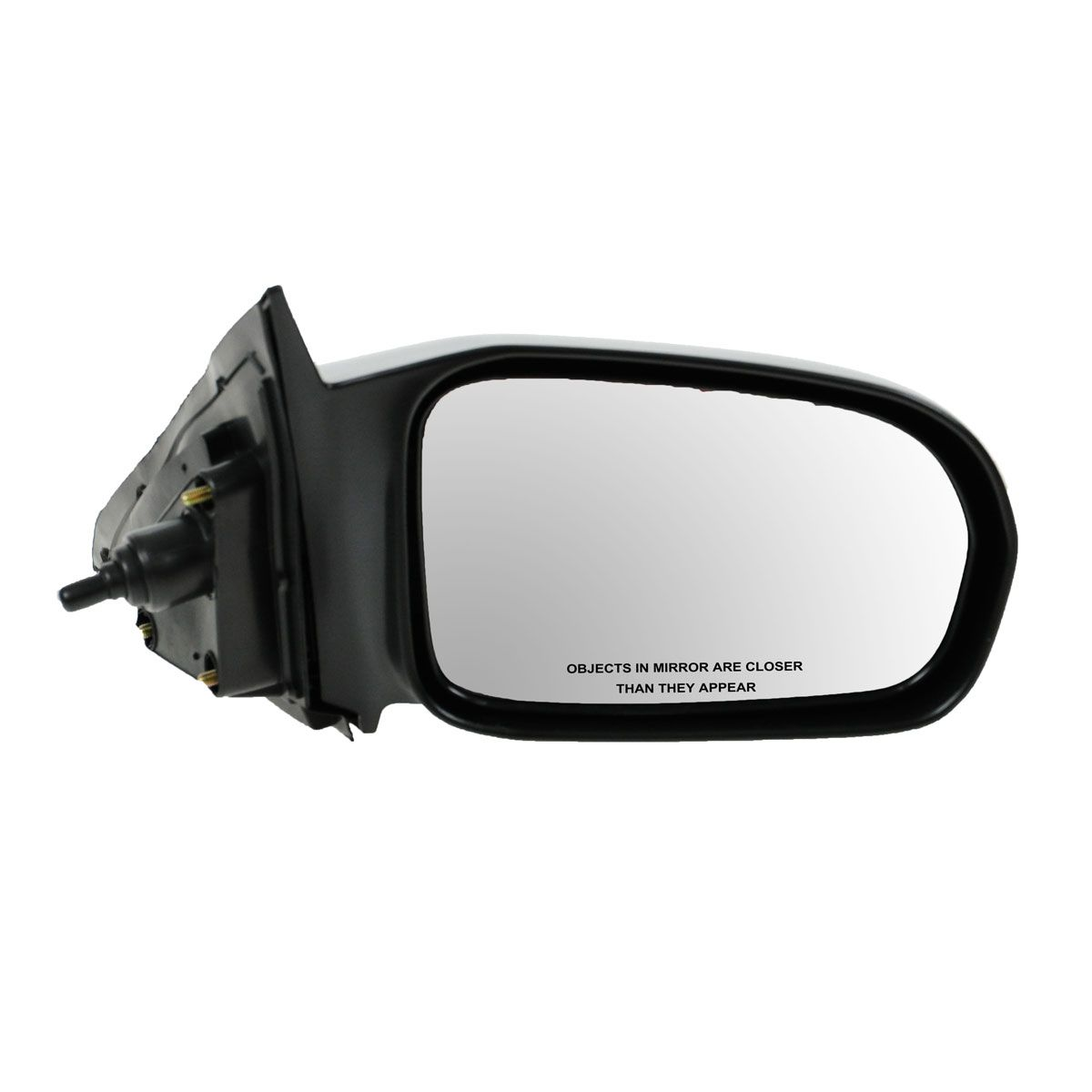 Passengers Manual Remote Side View Mirror Replacement for Honda 76200-S5P-A01