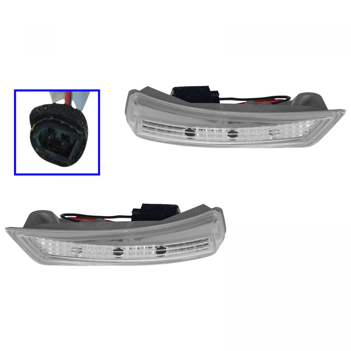 Auto Parts & Accessories Dorman Mirror LED Turn Signal Light LH RH Pair for Grand Caravan Town & Country