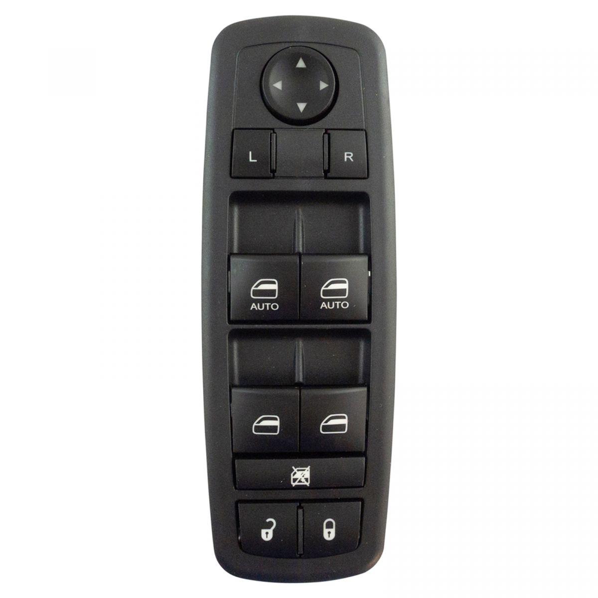Master Power Window Door Lock Switch LH for 09-12 Ram Truck Quad Cab 4 Door New