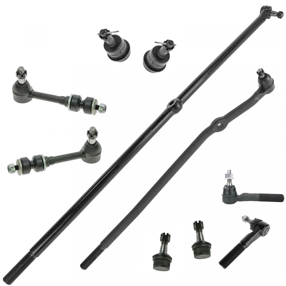 All Balls 51-1060-R Right Tie Rod End Kit