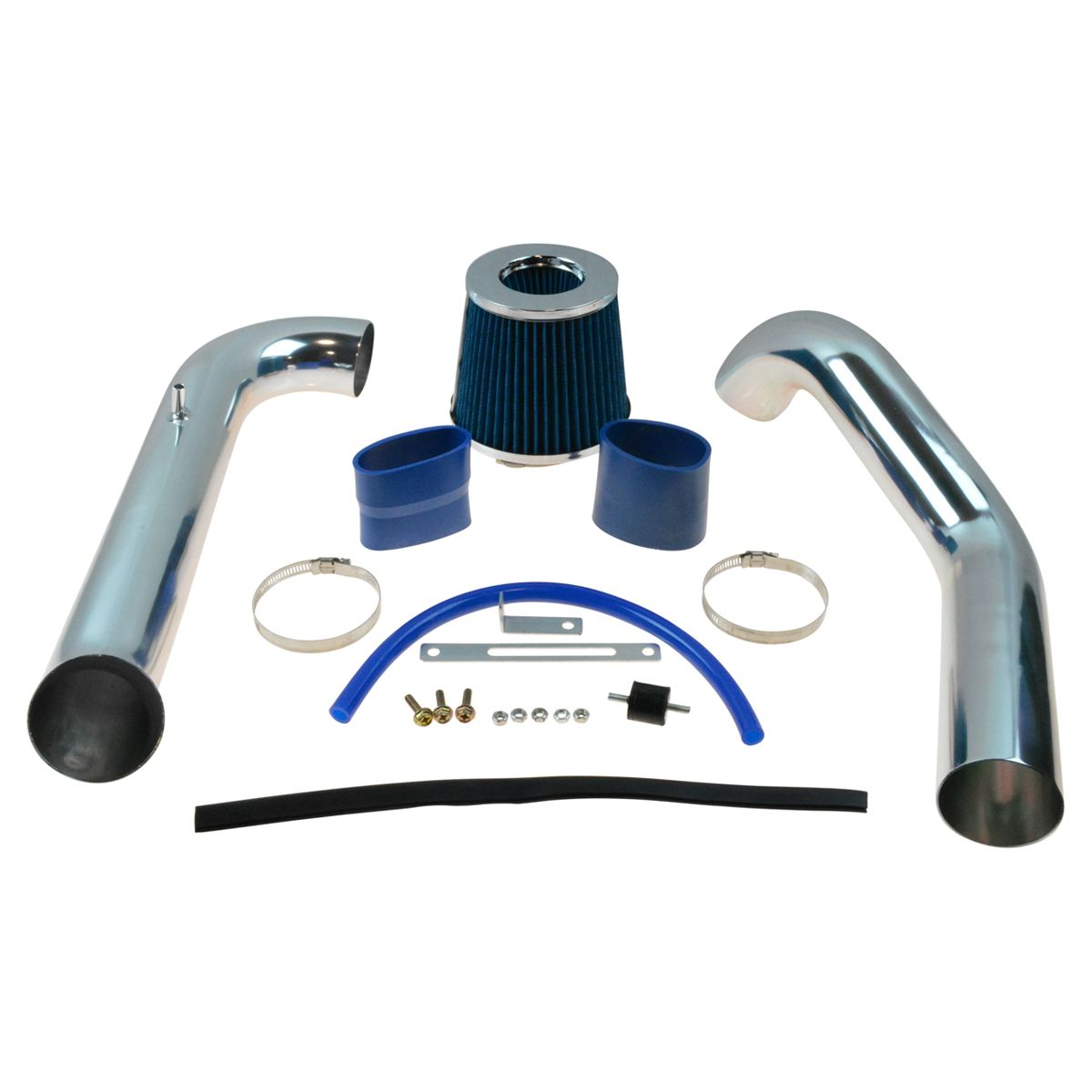 Performance Cold Air Intake CAI w// Blue Air Filter for Honda Civic CX DX LX New