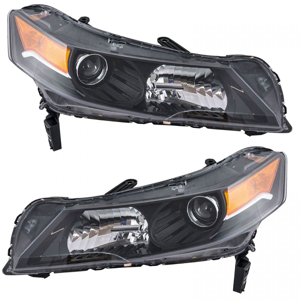 HID Headlight Headlamp Assembly LH LF & RH RF Pair For 12
