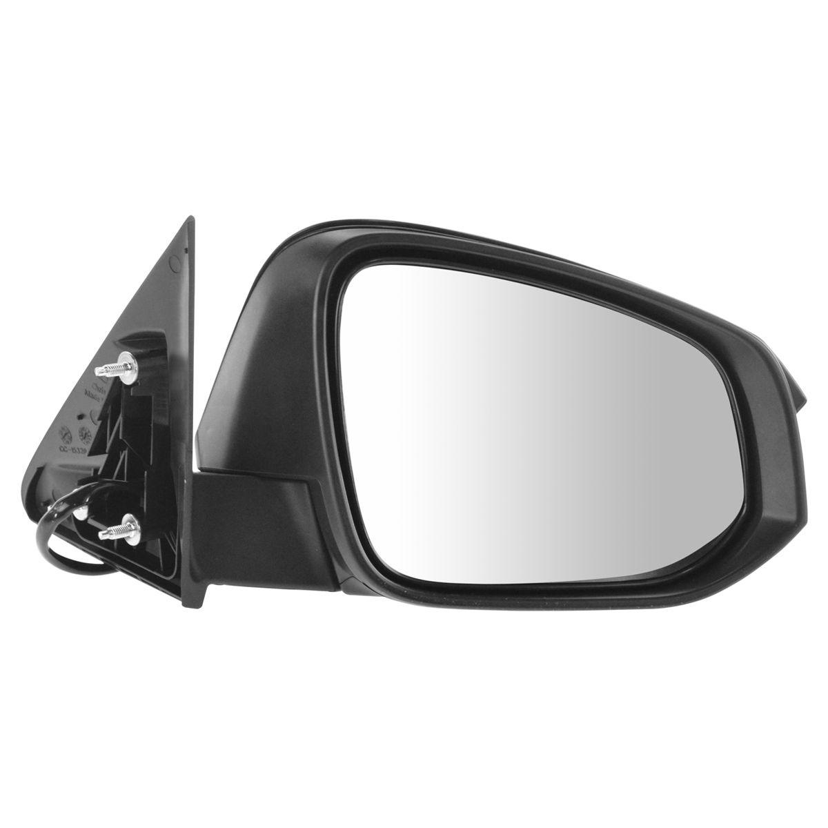 US Made Door Mirror Glass Driver Side For Toyota Highlander 2014-16