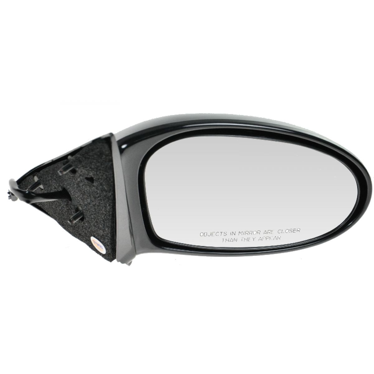Power Black Fixed Mirror Passenger Side Right Hand RH for 99-04 Olds Alero