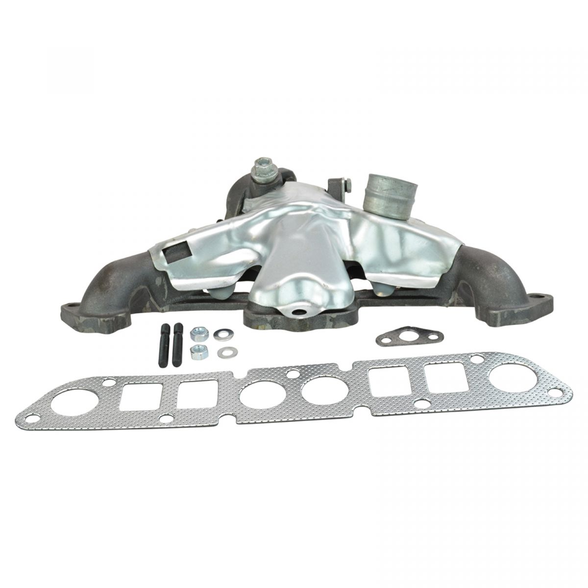 Chrysler Dynasty 1991 1993 Manifold Absolute: Cast Iron Exhaust Manifold W/ Gasket Kit For Cherokee