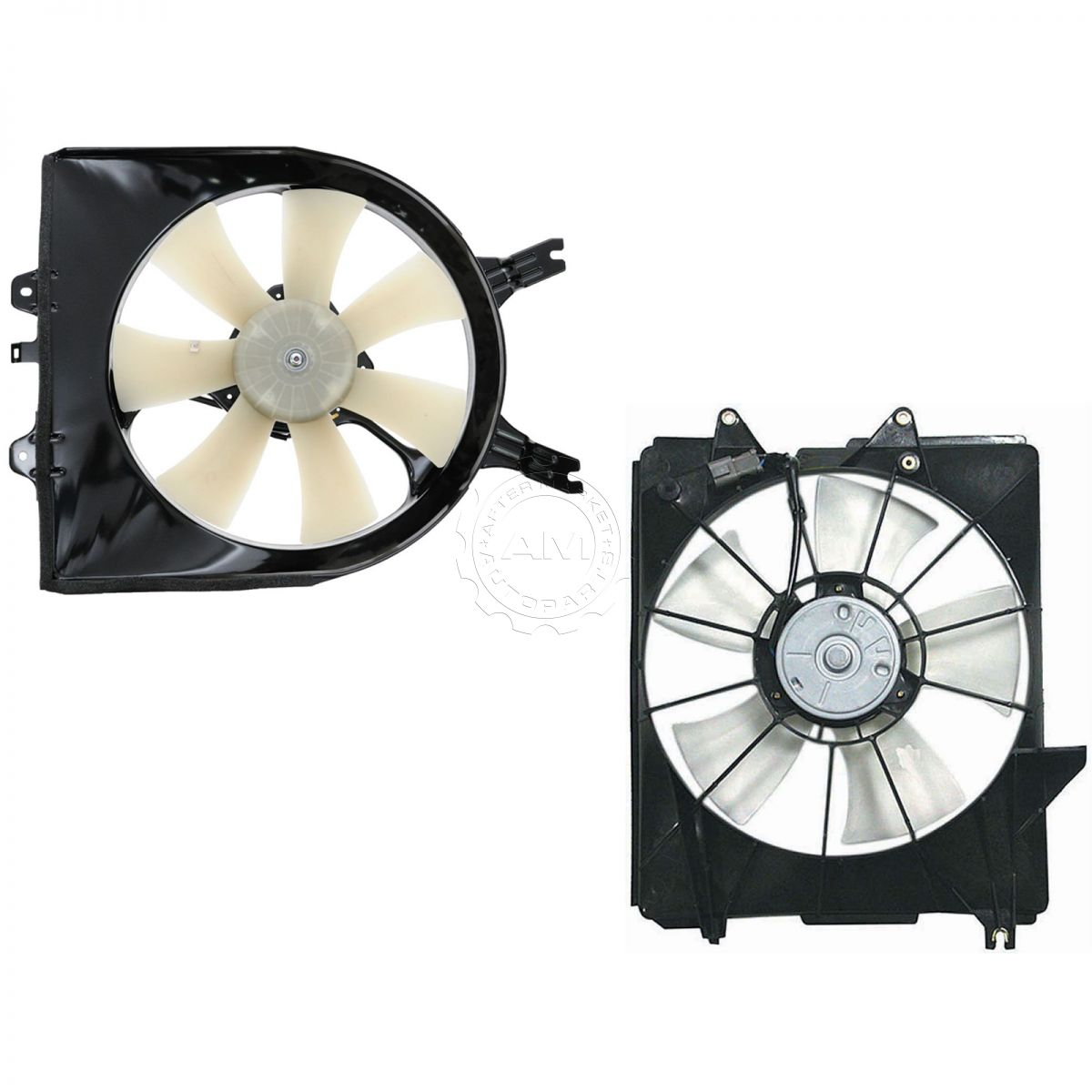 A//C Condenser Cooling Fan For 2007-2008 Honda Fit