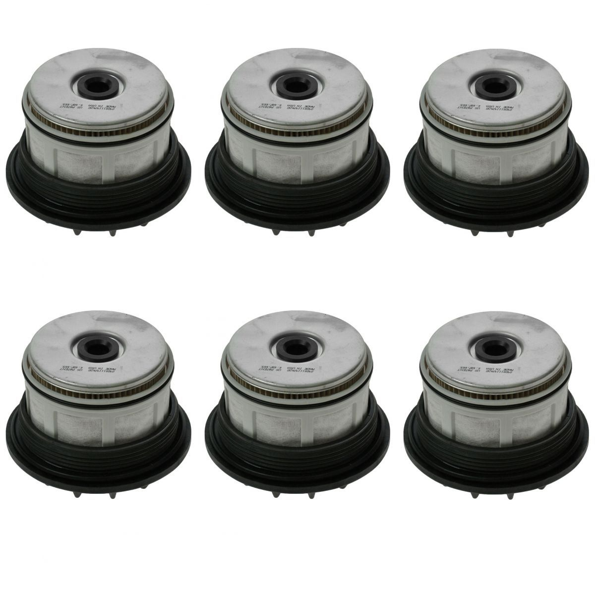 fuel filter set of 6 for ford f250 f350 super duty van 7. Black Bedroom Furniture Sets. Home Design Ideas