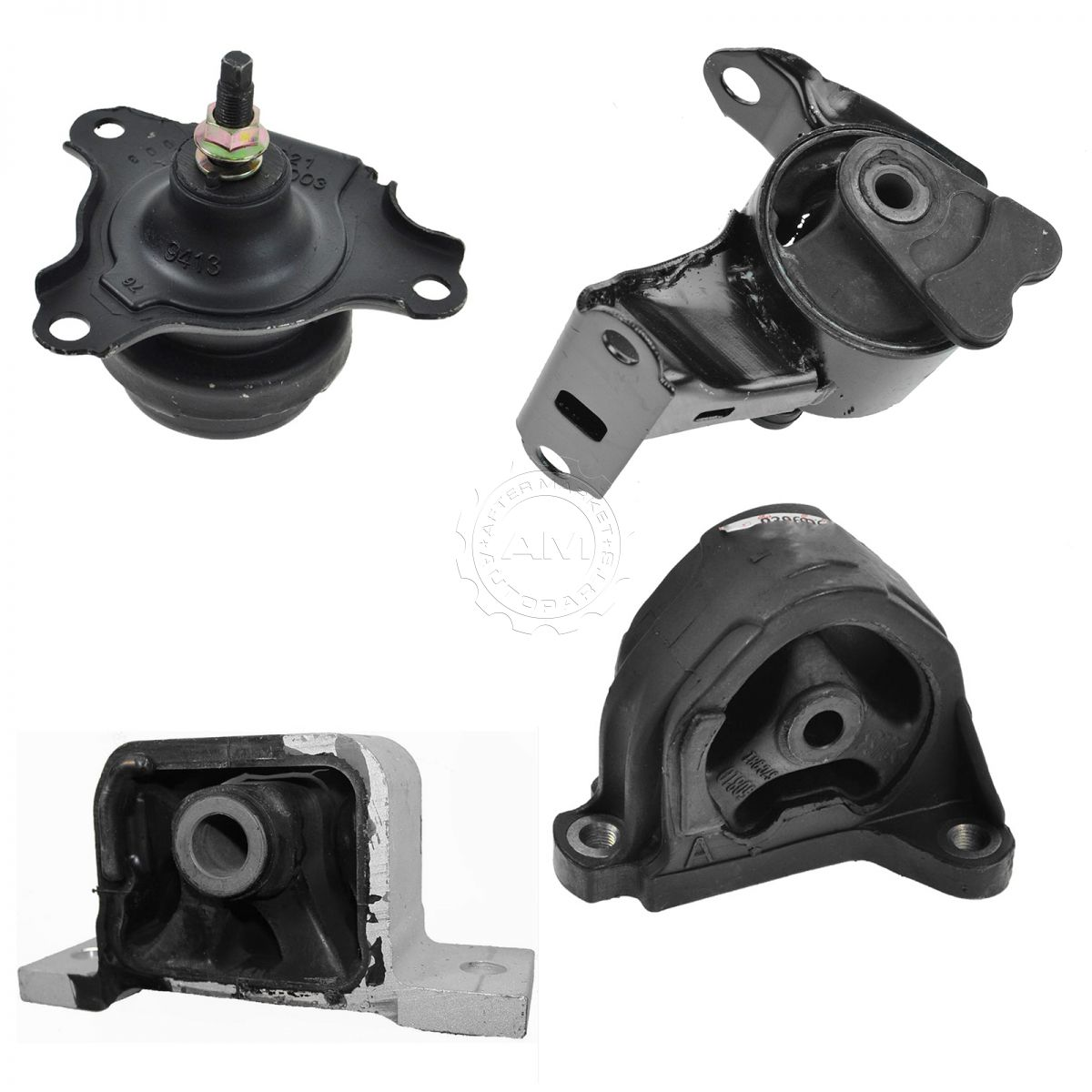 Engine Motor & Transmission Mounts Kit Set Of 4 For 02-06