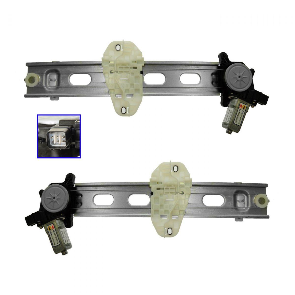 Front Left Driver Side Power Window Regulator Lift w//Motor for Honda Civic 06-11