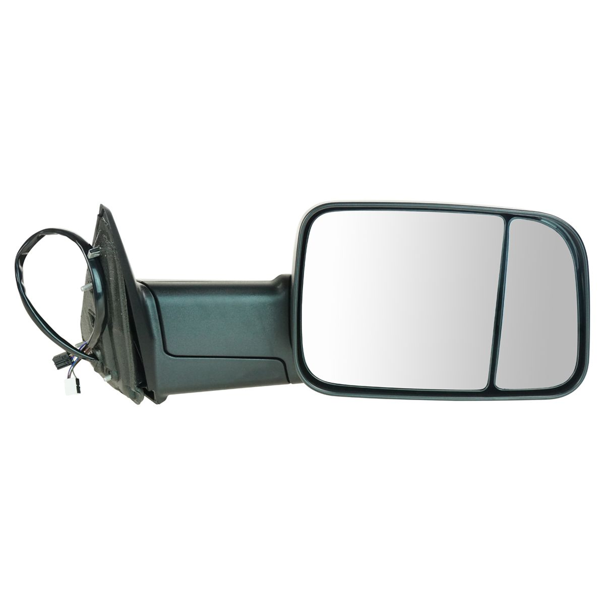 Mirror Tow Power Heated Signal Puddle Light Textured Black