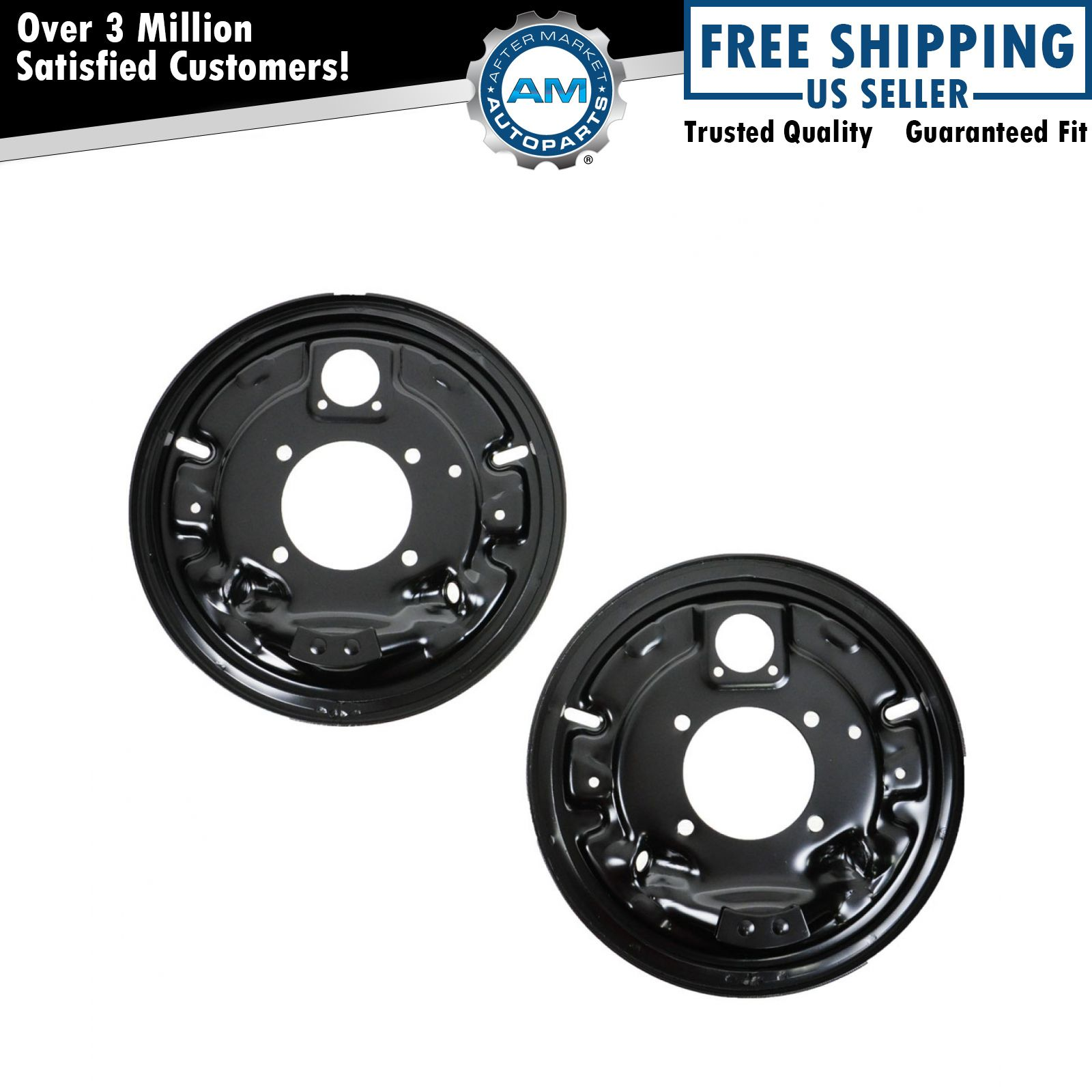 Dorman Rear Brake Backing Plates Pair For Chevy C K Pickup
