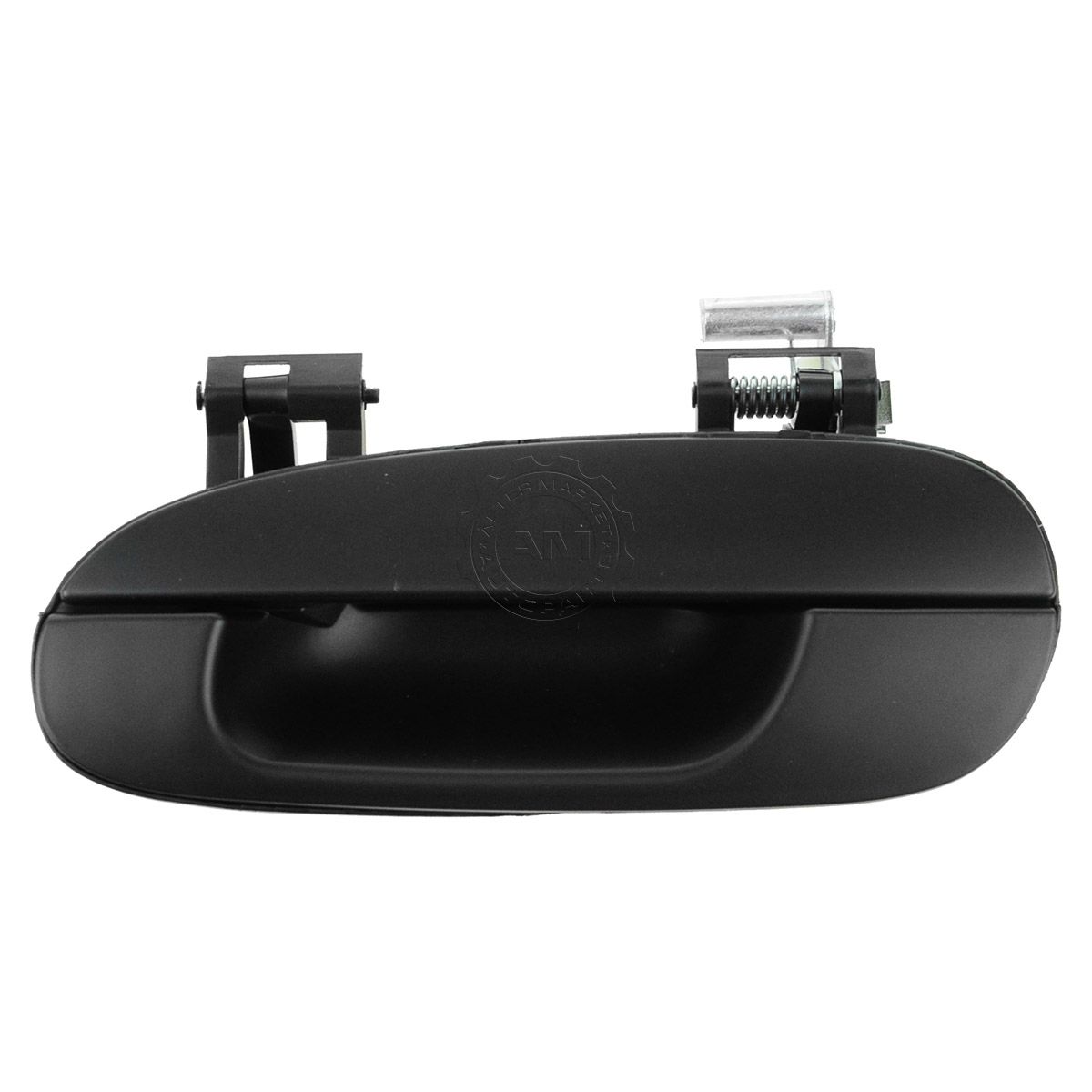 New Outside Door Handle Smooth Black Rear Left Exterior Driver Side LH