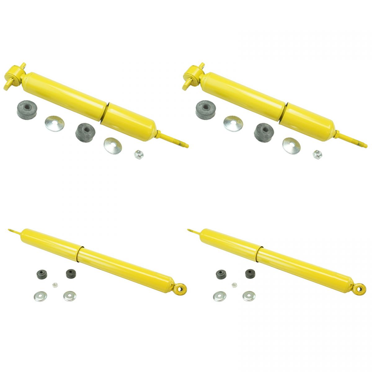 Monroe New Shocks Front /& Rear Fits Ford F-150 97-03 2WD