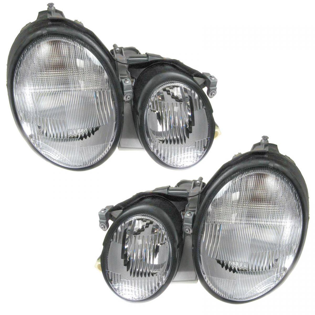 Headlight Headlamp Passenger Side Right RH for 98-03 Mercedes Benz CLK320 CLK430