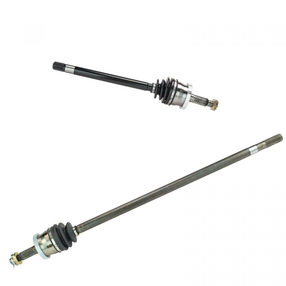 front cv joint axle shaft pair set for 99