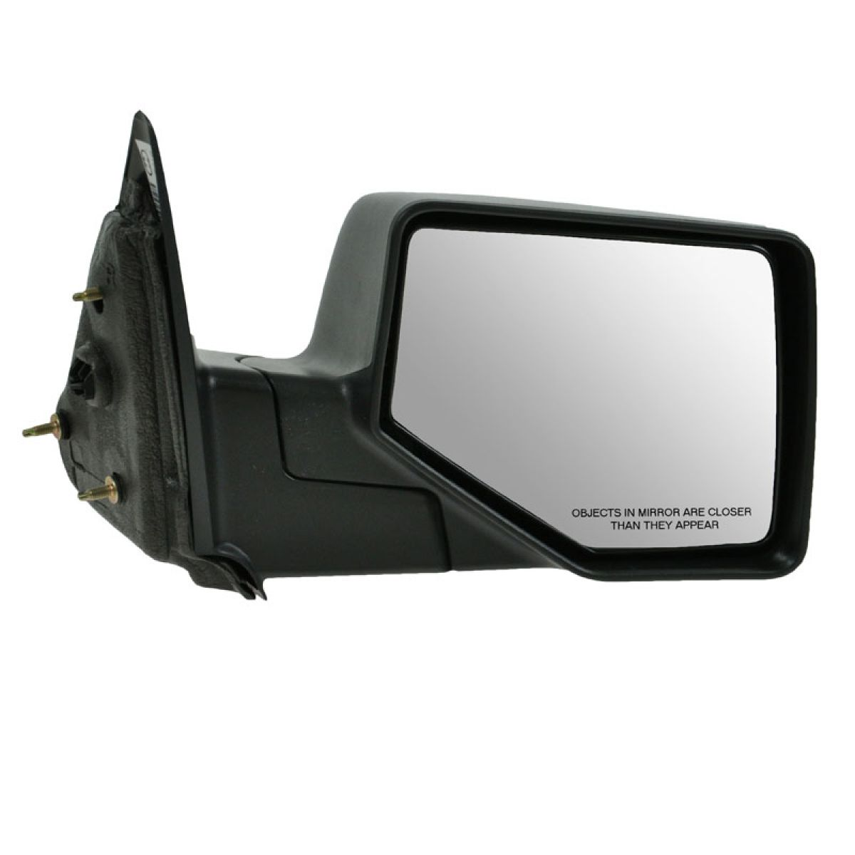 Mirror Manual Textured Black Left LH Driver Side for 06-11 Ford Ranger New